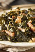 Southern style collard greens Stock Photos