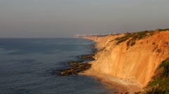 Stock Video Footage of High Coast of the Mediterranean Sea