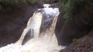 Stock Video Footage of Gorge Falls