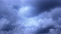 Stormy Rainy days , weather report ,wallpaper  background Stock Footage