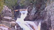 Stock Video Footage of Whitewater Kayak Cascades