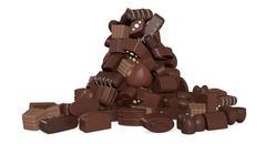 chocolates - stock illustration