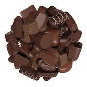 Chocolates Stock Illustration