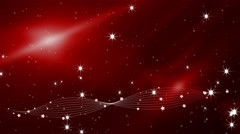 Red abstract vector festive motion background Stock Footage