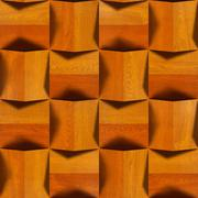 wooden blocks stacked for seamless background, - stock illustration