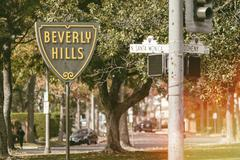 Beverly HIlls Iconic Sign Kuvituskuvat