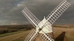 Stock Video Footage of Windmill - Front
