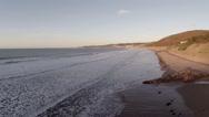 Stock Video Footage of Sandy Beach in Devon