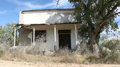 Ghost Town General Store Gleeson 2 Stock Footage