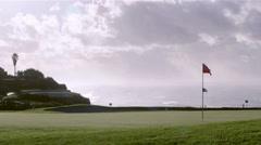 Algarve-Golf Still Landscape B - stock footage