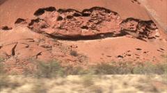 Stock Video Footage of Magic of Aboriginal Uluru