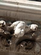 imperishable beauty of details on the doge's palace, venice, - stock photo
