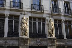 building art deco, Paris - stock photo