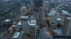 4K Boston Evening Traffic Stock Footage