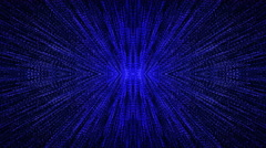 4k abstract light pattern computer generated technology background Stock Footage