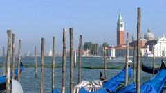 Venezia, Venice, Church of San Giorgio Maggiore  003 Stock Footage