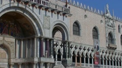 Venezia, Venice in Italy, Doge's Palace,007 Stock Footage