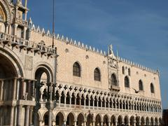 the doge's palace -venice - stock photo
