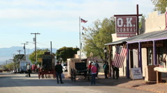 Tombstone OK Corral 5 Stock Footage
