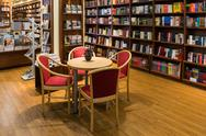 Stock Photo of Famous International Books For Sale In Book Store