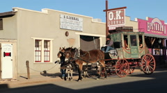 Tombstone OK Corral 3 Stock Footage
