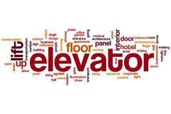 Elevator word cloud Piirros