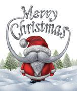 Merry christmas santa claus Piirros