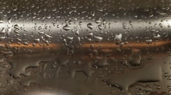 Water dripping from faucet Stock Footage