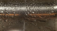 Water dripping from faucet - stock footage
