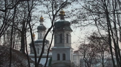 ancient Orthodox Church of Elijah - stock footage