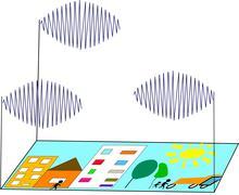 The telecommunication Stock Illustration