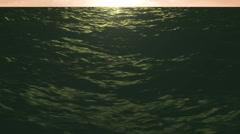Ocean Sunset Sea Motion 04 Stock Footage
