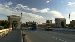 Traffic in Spokane, Washington, 4K Stock Footage