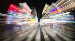 4k kabukicho nightlife tokyo red light district japan city Stock Footage