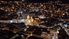 Guanajuato by night Stock Footage