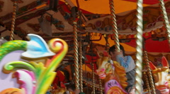Carousel at Southport Stock Footage