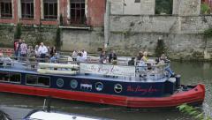 The Penny Lane River Avon Bath  Stock Footage