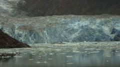 Alaska Tracy Arm Glacier Stock Footage