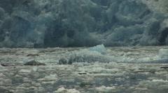 Alaska Glacier Ice Flow Stock Footage