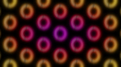 Neon Pattern 003 B Beat Wave GSC 1080p - stock footage
