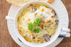 Stock Photo of mashed potato