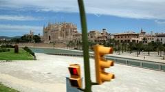 Cathedral - Palma de Mallorca - stock footage