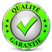 Quality guarantee icon Stock Illustration
