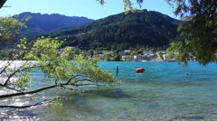 Queenstown in New Zealand, South Island. Stock Footage
