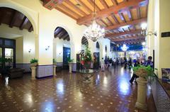 Reception of Hotel Nacional de Cuba - stock photo