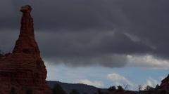 4K Tourists Hike Visit Sedona Arizona Time Lapse Stock Footage