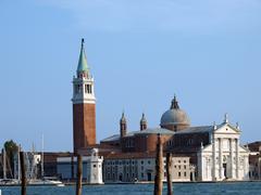 Venice - basilica of san giorgio maggiore. Stock Photos