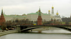 Landmarks of Moscow's Capital Stock Footage