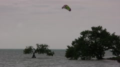 Kiteboard 1 at 25fps - one of series Stock Footage