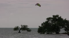Stock Video Footage of Kiteboard 1 at 29.9 fps - one of series